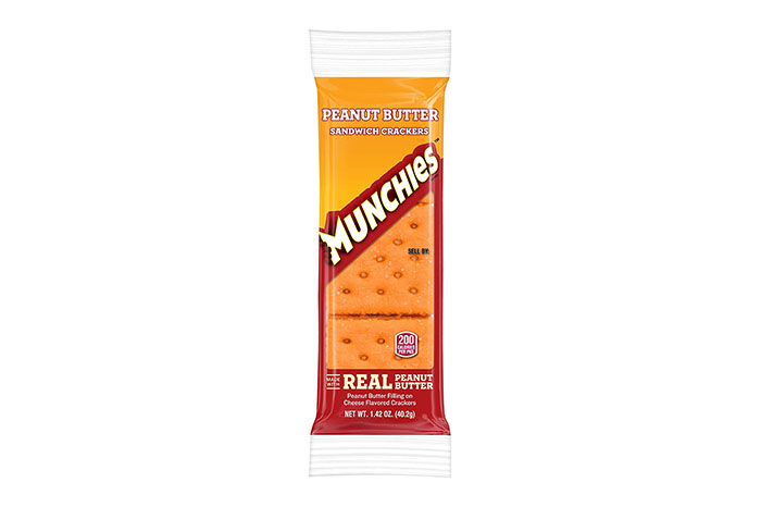 Munchies Cheese & Peanut Butter Crackers
