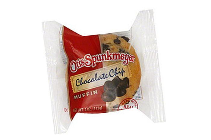 Otis Spunkmeyer Chocolate Chocolate Chip muffin