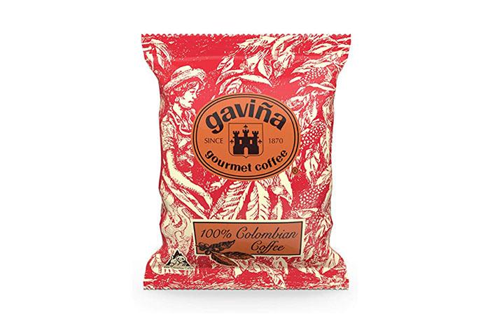 Gavina Columbian Portion Pack 2.5oz