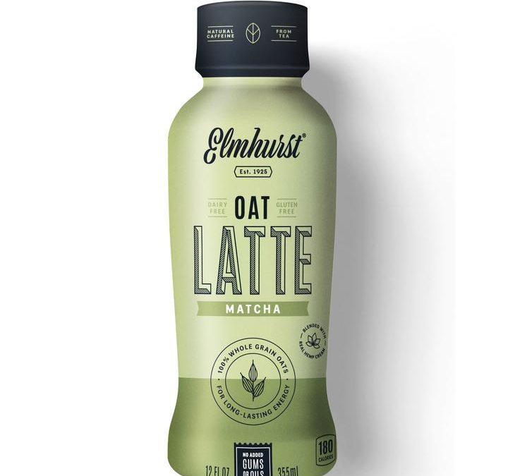 Matcha Oat Milk Latte