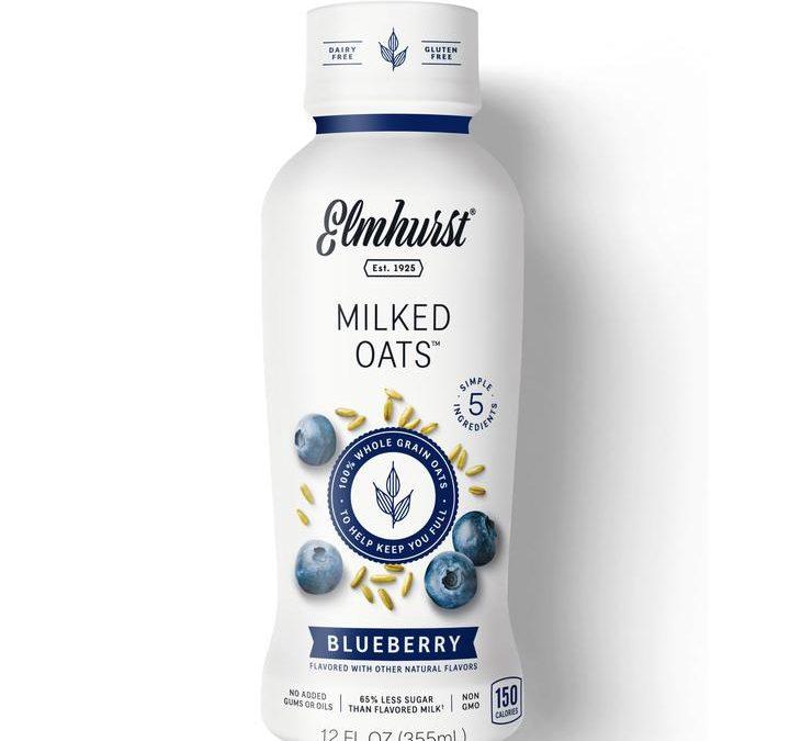 Blueberry Oat Milk – 12oz
